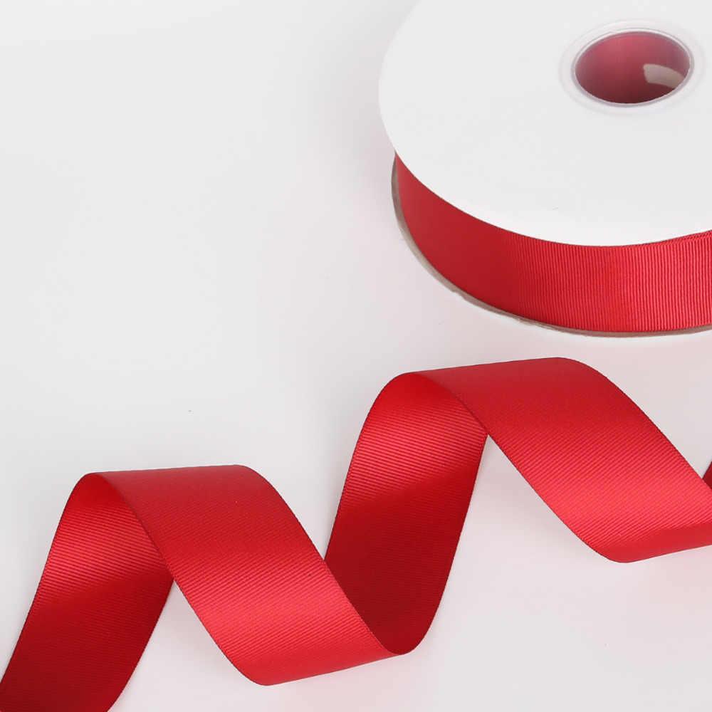 5 bãi/lô 7 mét/10 mét/15 mét/20 mét/25 mét/38 mét Màu Xám Grosgrain Ribbon Trang Trí Đám Cưới Quà Tặng Bọc Giáng Sinh Ribbon Bow TỰ LÀM Thủ Công