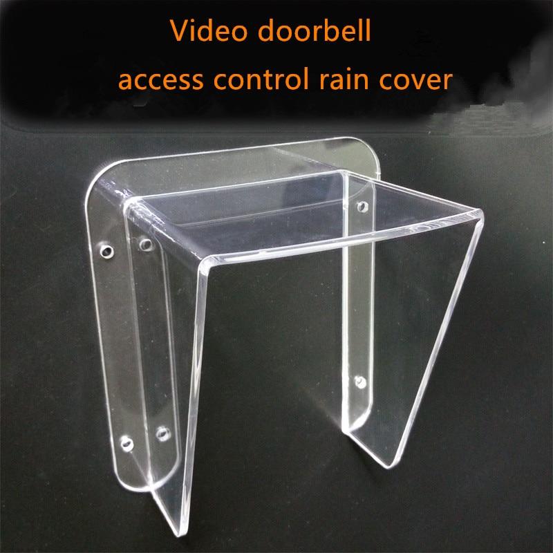 Image 5 - Yobang Security Freeship Intercom villa doorbell host access control machine Waterproof cover rain cover universal typerain coverrain waterproofrain machine -