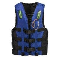 New Sale Dalang Times Boating Ski Vest Adult PFD Fully Enclosed Size Adult Life Jacket Blue
