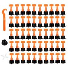 цены 50Pcs Plastic Ceramic Leveler Tools T Shaped Leveling System Kits For Tiles Reusable T Leveling Locator System Tile Spacers
