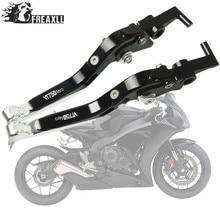 цена на Motorbike Accessories CNC Motorcycle Brake Clutch Levers Adjustable Folding Extendable For Honda VT 750 Aero VT750 VT 750Aero
