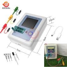 T7 Φ TFT тестер транзисторов с цветным дисплеем с подсветкой для диода триода конденсаторного резистора NPN PNP ESR Meter