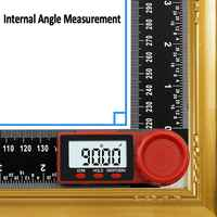 New 200mm Digital Angle Inclinometer Angle Measure Meter Electronic Goniometer Protractor Finder Measuring Tool qiang