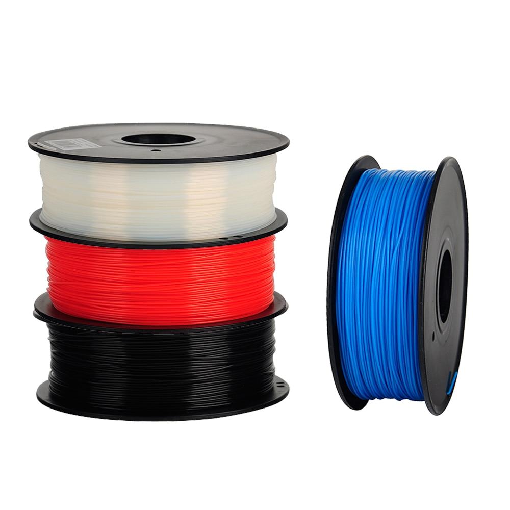 Anet intensit Alta barato filamento PLA 3d printer filament 1 kg/Rolo 2.2lb 1.75 milímetros 3d filamento de impressora de plástico 3d filamento 1 PCS