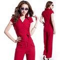 Summer new Korean Fashion Women's casual sets,Elegant Slim straight pants suit Ladies' shirt sets Free shipping YZ9505