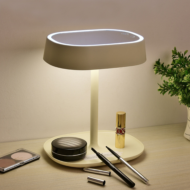 Zuoge portable touch mode led cosmetmake up mirror desk lamp zuoge portable touch mode led cosmetmake up mirror desk lamp dressing table mirror aloadofball Gallery