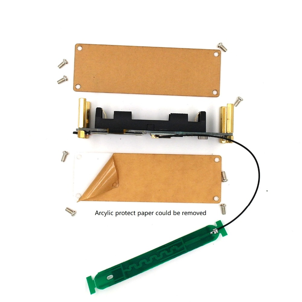 Image 5 - DSTIKE WiFi Deauther OLED V5  ESP8266 Development Board 18650 Battery Polarity Protection  Case  Antenna  4MB ESP 07-in Home Automation Kits from Consumer Electronics