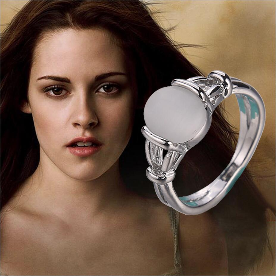 Fashion Fine Movies Jewelry Accessories Twilight Bella Opal Silver