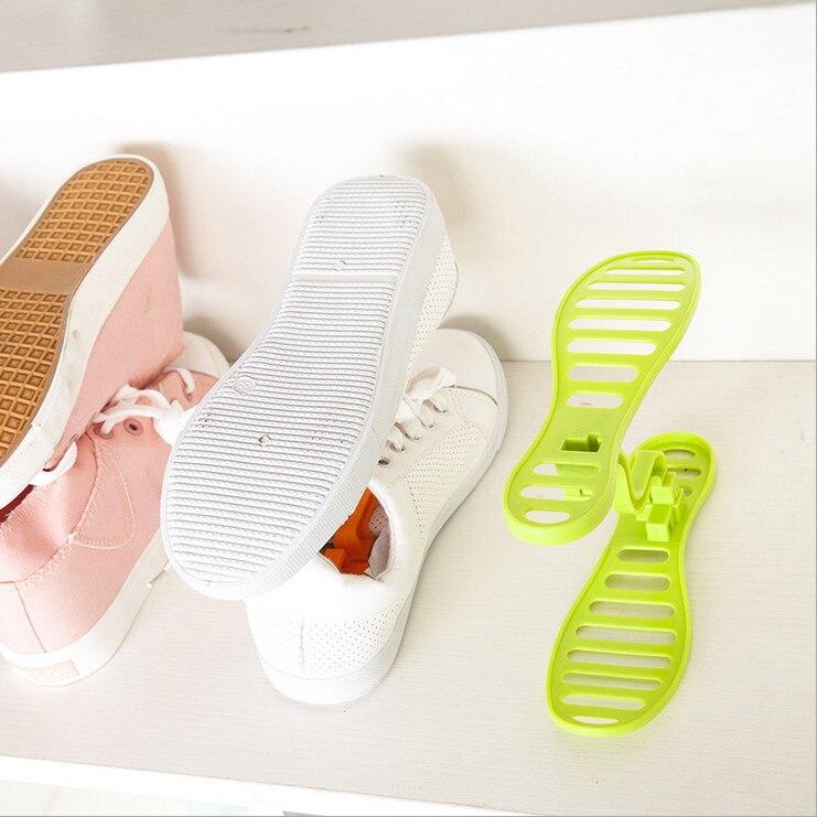 Yaratıcı Tasarım Uzay Tasarruf Ayakkabı Raf Ayakkabı Depolama - Evdeki Organizasyon ve Depolama - Fotoğraf 3