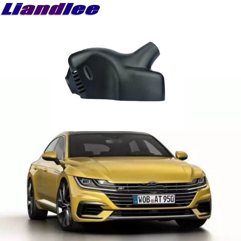 Liandlee For Volkswagen VW Arteon 2017 2018 Car Black Box WiFi DVR Dash Camera Driving Video Recorder liandlee for volkswagen vw golf mk5 a5 1k mk6 a6 5k mk6 a7 2003 2018 car black box wifi dvr dash camera driving video recorder