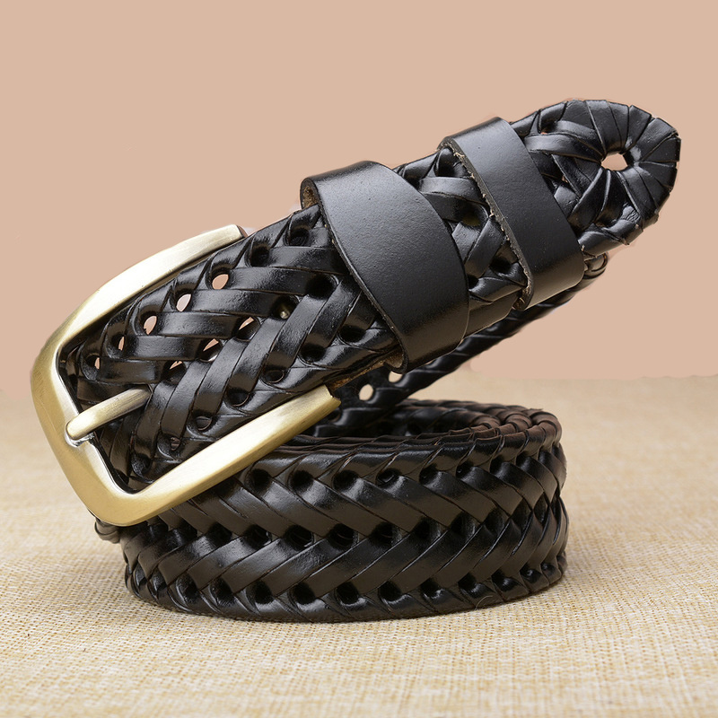 Pin Buckle Woven Knitted Quality Belt 2