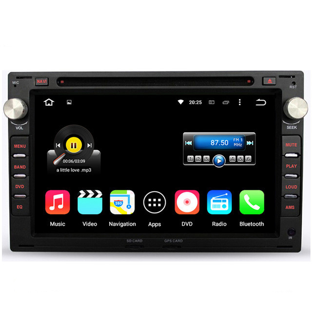 android 5 1 car dvd players gps radio for old vw. Black Bedroom Furniture Sets. Home Design Ideas