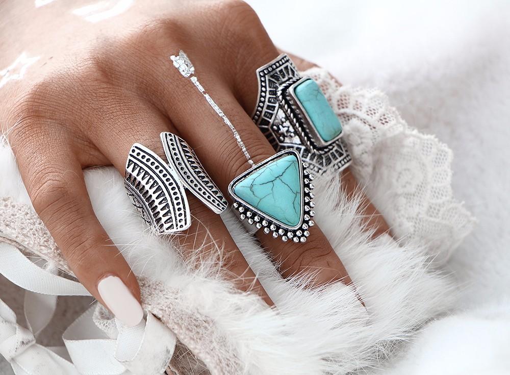 HTB1iBffNpXXXXbqXXXXq6xXFXXXm Boho Style 3-Pieces Vintage Punk Knuckle Ring Set For Women - 2 Colors