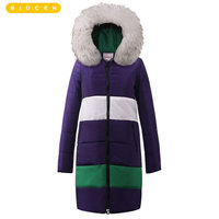 2018 зимняя куртка Женская куртка парка теплые Зимние куртки Feminino длинный пуховик пиджак 6xl пуховик с капюшоном