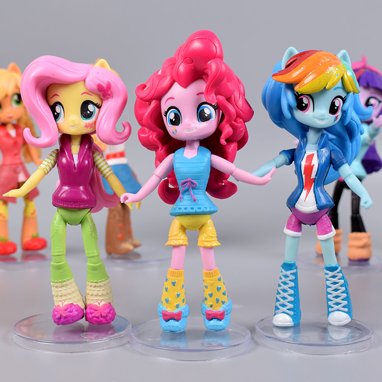 My Little Cute Pony Girl Figurines 13cm 14