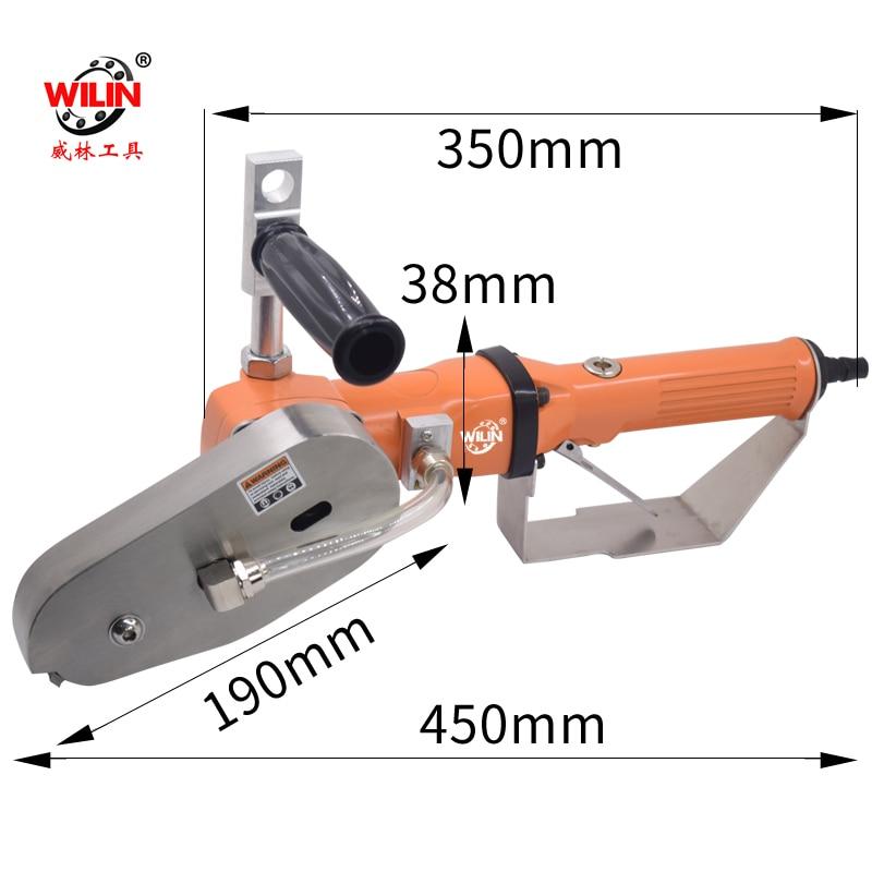 Wilin Pneumatic tools AIR Carton Cardboard Boxes Waste Removal Machine Corner Scraps Remove Broken Break machine