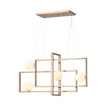 Art Box Modern Pendant Ceiling Lamps Glass Ball Lights Pending Lighting Living Room Bedroom Dining Hanging Light