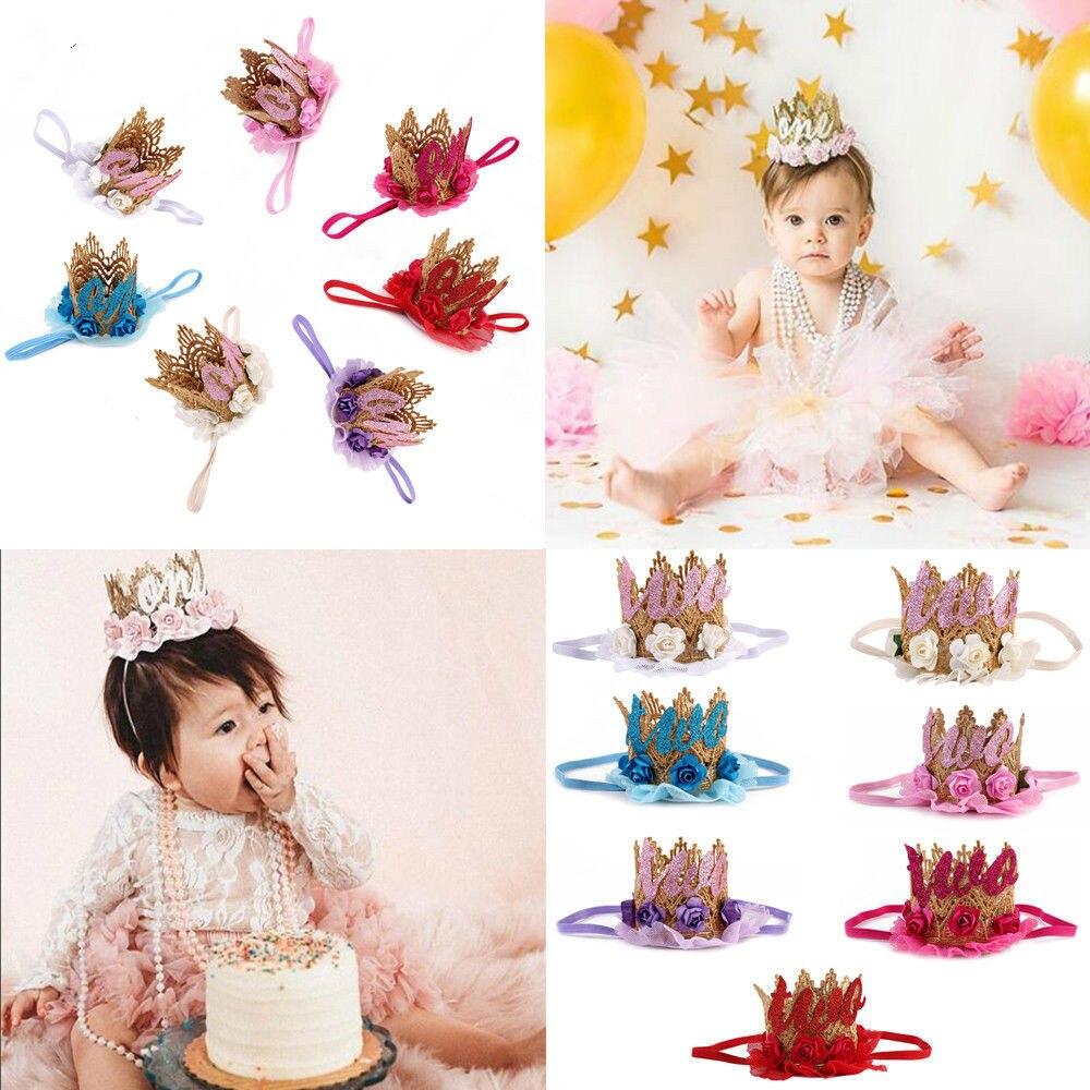 2018 Brand New Infant Kids Baby Girl Toddler Flower Crown Hair Band