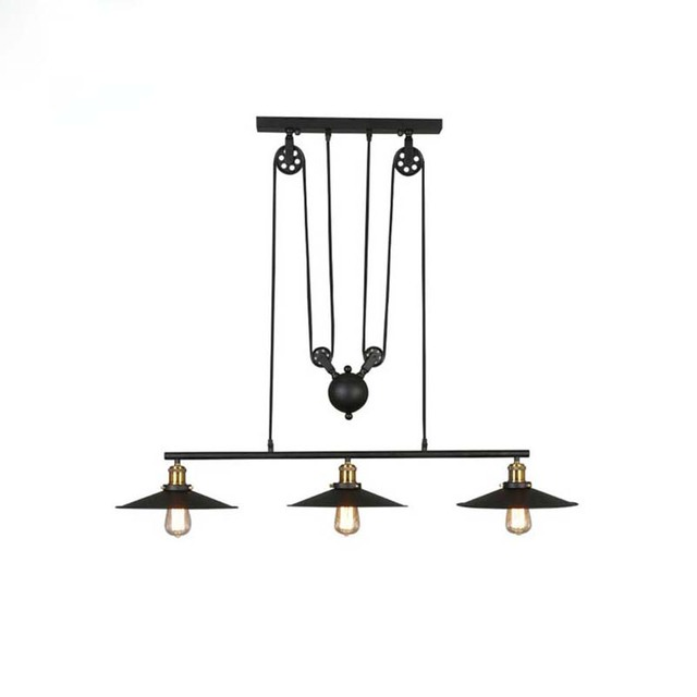 US $58.5 |Nice Decor Retro Vintage Pendant Lamps With 1/2/3  Lights,Perfectly Matching American Lighs For Dinning Room,Living Room-in  Pendant Lights ...
