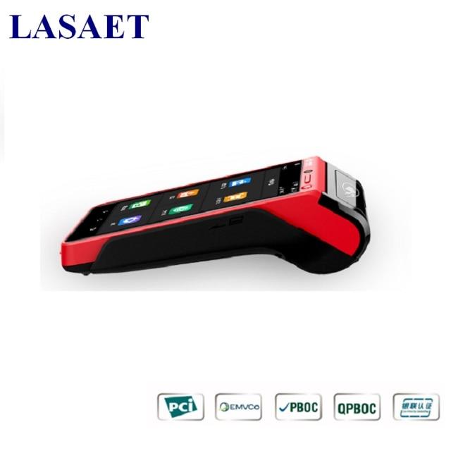5.5 дюймов Мобильных Платежей устройства с 1D/2d сканера штриховых кодов Модуль База и Термальность принтера