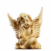 Kind Angel Figure Wing Statue Cupid Jesus Buddha Statue Decoracion Love Cupid Jesus holy Statues For Decoration R497