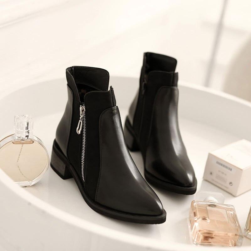 size 40 82d6d 42ddc Bottines-pour-femmes-bottes-talons-carr-s-bout-pointu-Botas-femmes-hiver- chaussures-plate-forme-Martin.jpg