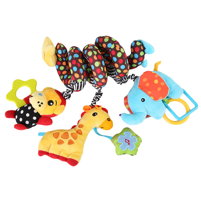 Hanging and Rattling Crib Toy for Baby