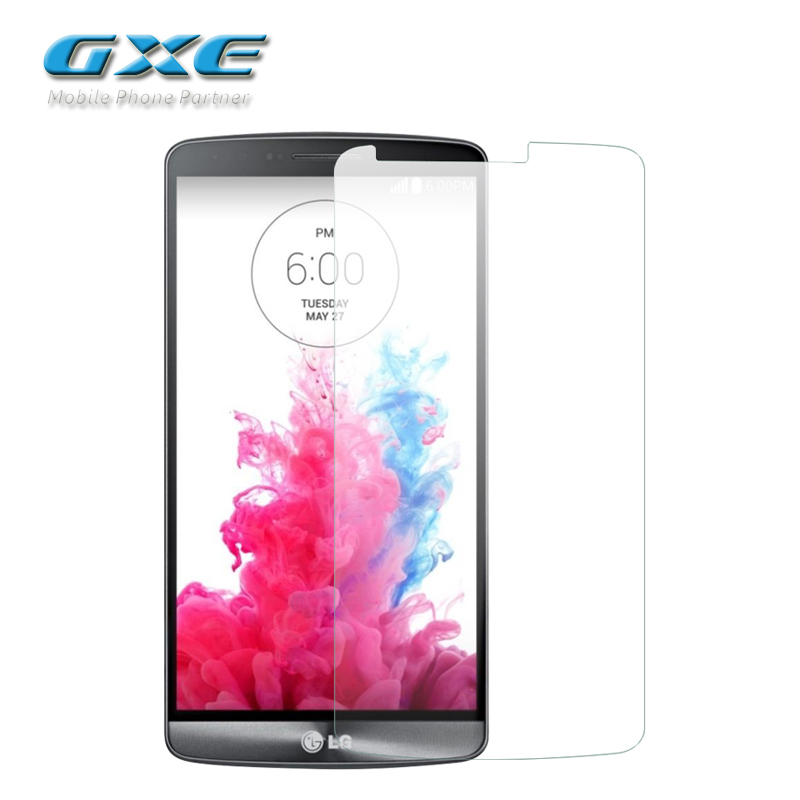 GXE Tempered Glass for LG L90 L80 L70 L65 L5II L5 II Dual Sigle SIM Card VS880 G3 Screen Protection Film (Not Matte Glass)