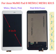 цены Starde 8'' LCD For Asus Memo Pad 8 ME581C ME581 ME581CL K015 K01H LCD Display Touch Screen Digitizer Assembly with Frame
