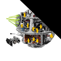 LELE Star Falcon Wars Death Star Destroyer Building Blocks Bricks Compatible 10188 75159 05035 05063 Toys For Children