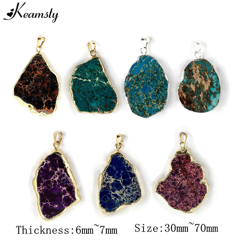 Keamsty new design natural freedom shape druzy pendants stone gold keamsty new design natural freedom shape druzy pendants stone gold edged rock crystal pendants rt 051ab 5pcslot mozeypictures Image collections