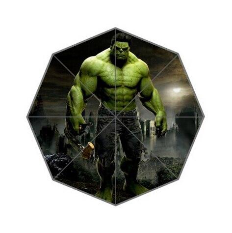 ab9bc3462 Design de moda Personalizado Guarda-chuva Guarda-chuva Do Incrível Hulk  Para O Homem