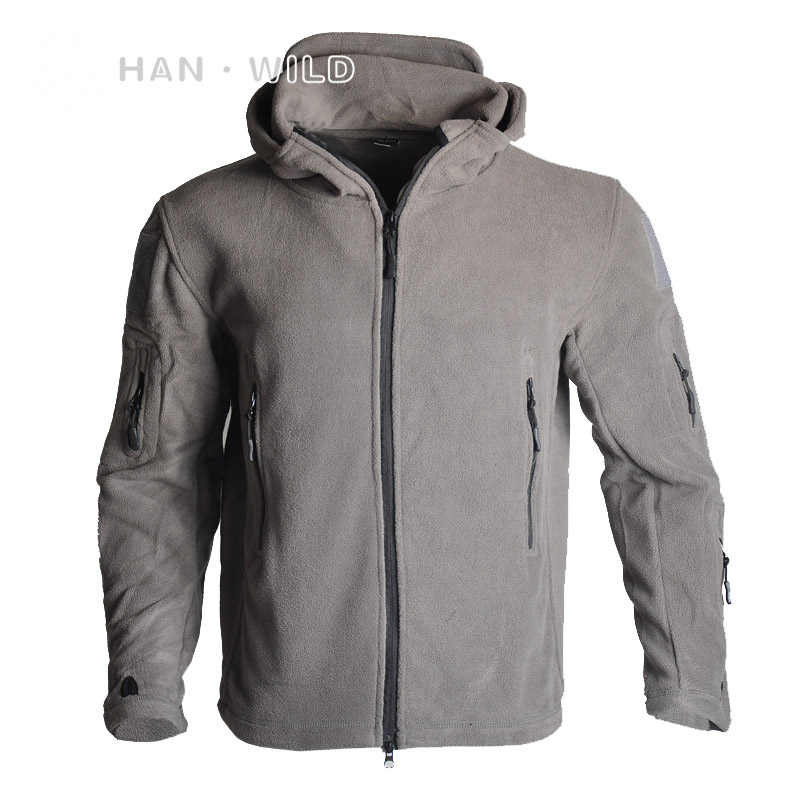 Tactical Softshell Winter Jacket Men Military Outdoor Sport Jacket Hunting Camping Thicken Thermal Fleece Hooded Clothing