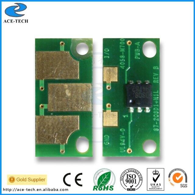 Compatible toner chip for Konica Minolta 5550 5570 5650 5670 color laser printer refill cartridge A06V132 OEM 6K 12K