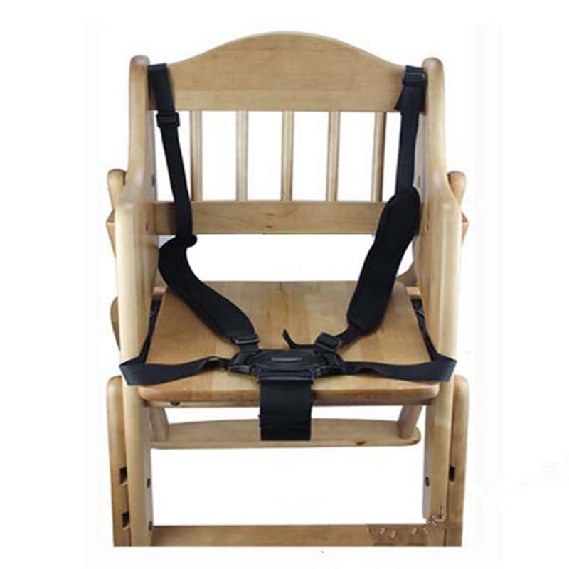 Universal Baby 5 Point Harness Safe Belt Seat Belts For Stroller High Chair Pram Buggy Children Kid Pushchair Strap Hook