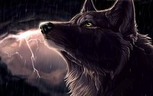 fantasy original art artistic artwork wolf wolves    4′ Size Home Decoration Canvas Poster Print