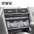 Стайлинг автомобиля  центральный пульт  кондиционер  CD панель  рамка  крышка  наклейки  отделка для Audi A6 C5 C6  автомобильные аксессуары из нерж...
