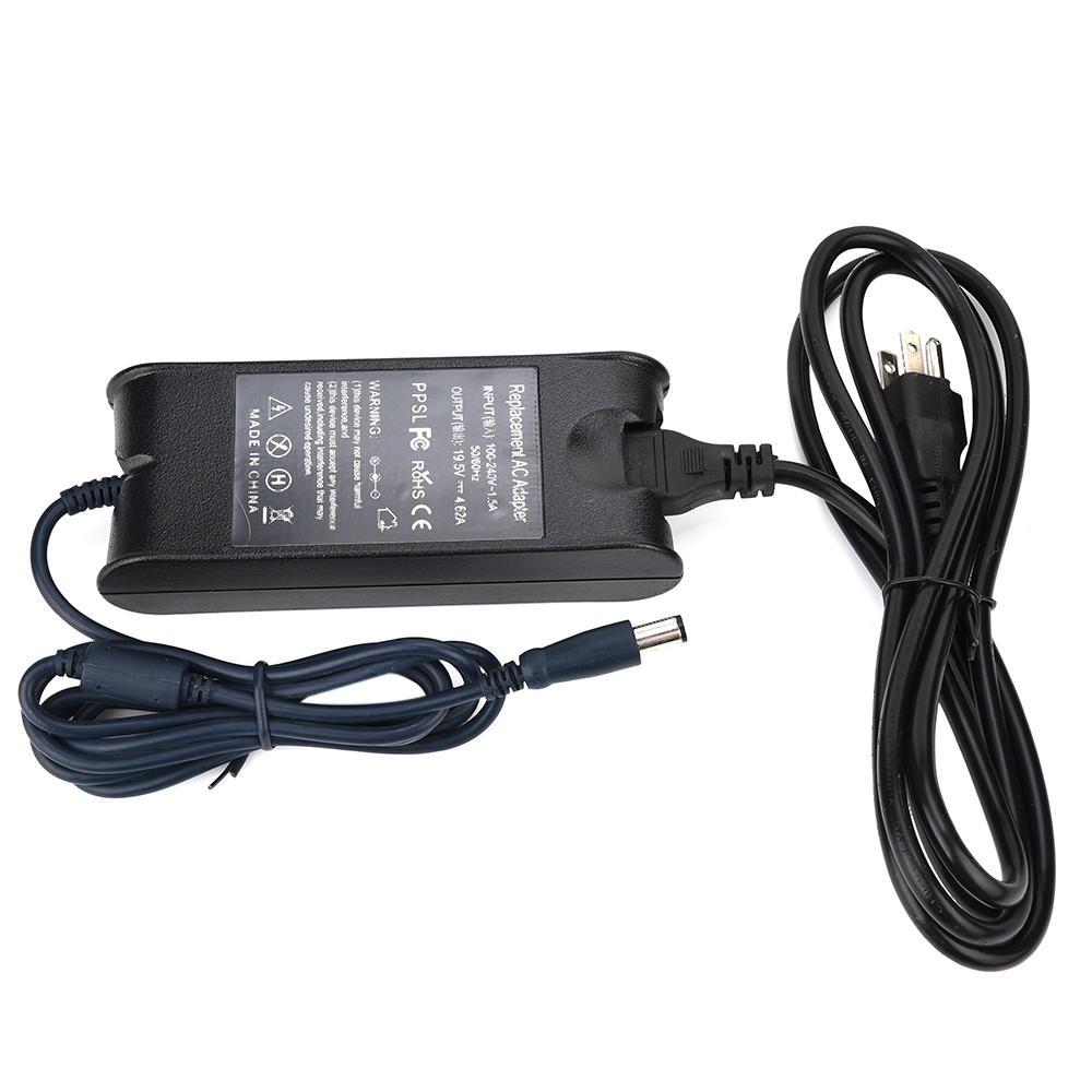 <font><b>Dell</b></font> Laptop Charger Adapter 90W 19.5V 4.62A carregador portatil Power Supply Cord For for <font><b>Dell</b></font> Studio <font><b>1435</b></font> 1440 1450 1457 z75 image