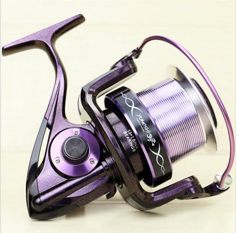 fast SHIP AF 2016 inshore ICE FLY CARP spinning fishing reel 14 HPCR stainless steel Ball Bearings distant wheel variable colour