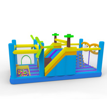 Hot Popular Inflatable Jumping Bouncer Inflatable Climbing Wall Combo Inflatable Obstacle Course For Sale