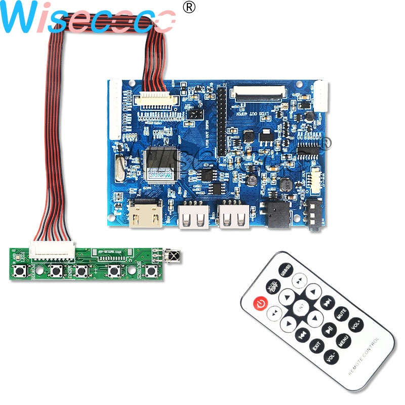 LCD Lvds Controller Board DIY Kit Driver Inverter for LED CLAA104XA02CW RTD2270L