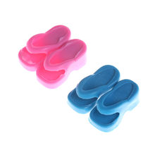 2 Pairs Fashion Platte Schoenen Dagelijkse Casual Wear Zomer Sandaal Huis Slippers Accessoires Voor 1/6 Pop Poppenhuis Gift Toy(China)