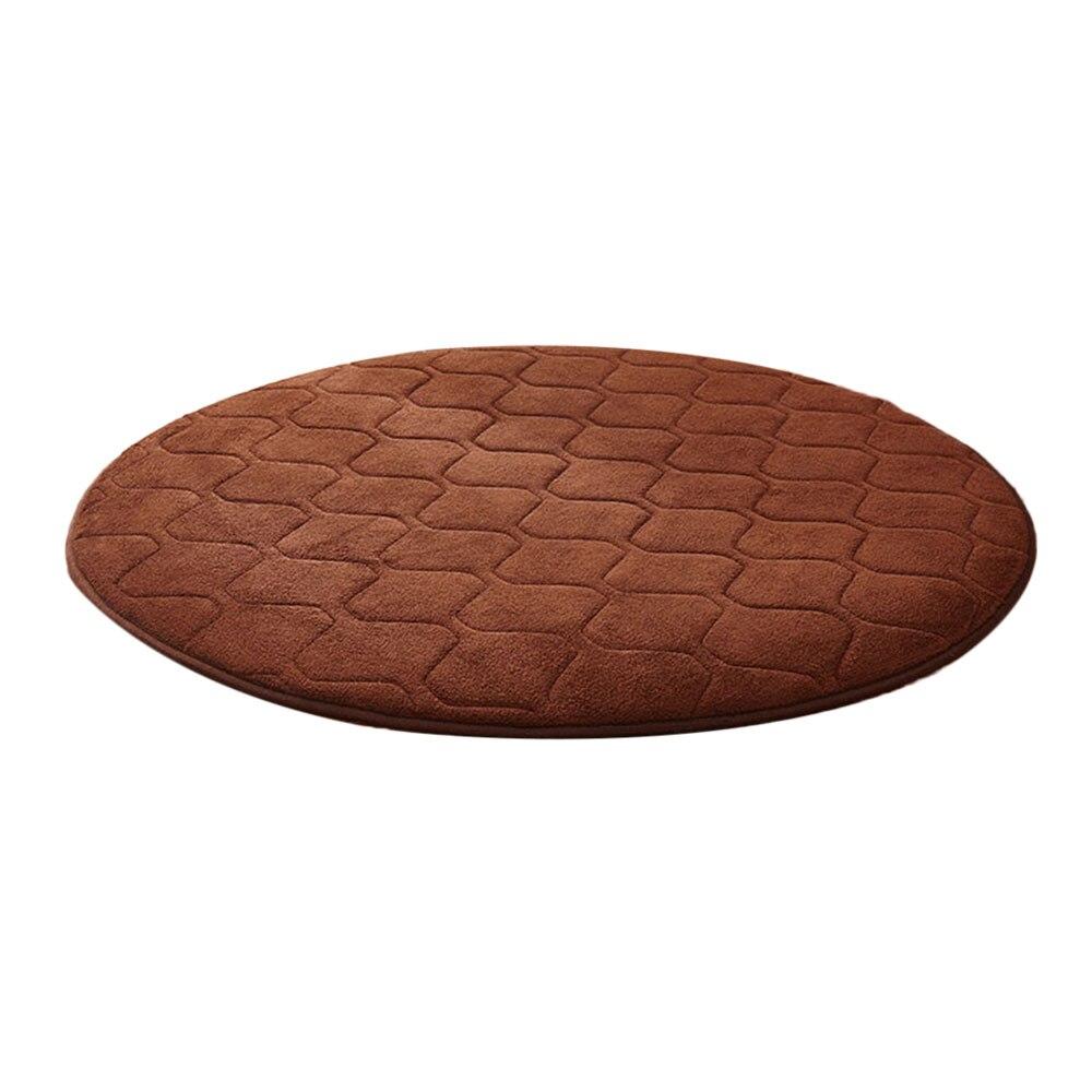 Коралловая шерсть мульти-цветной коврик для утолщения мусульманский для молитвы инструмент медитации подушки для медитации поклонение коврик чайная церемония - Цвет: brownness