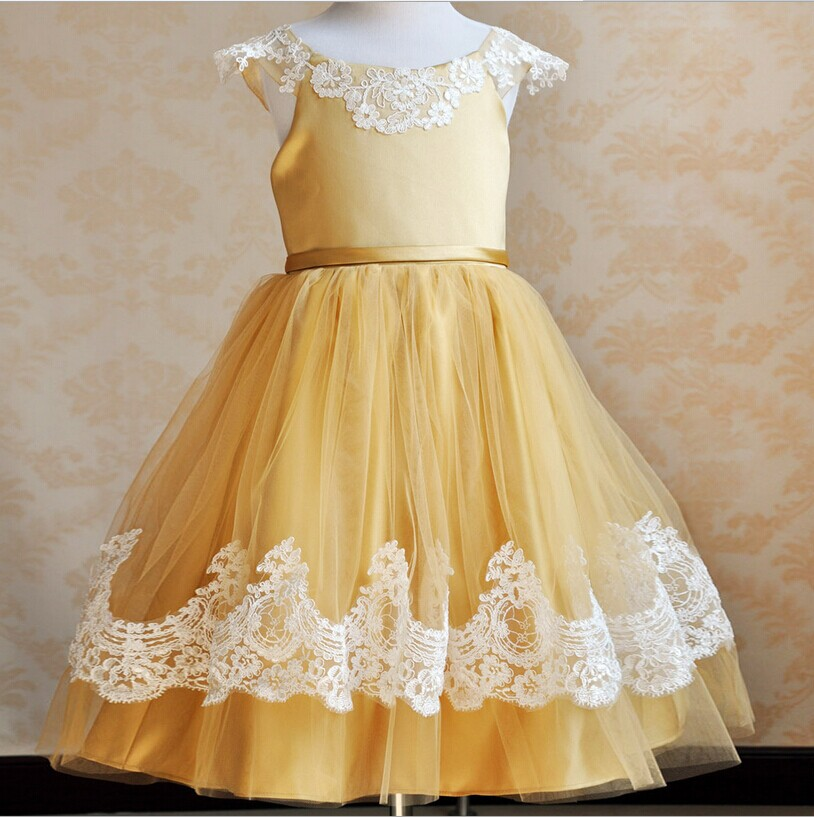 White lace new years dress for teens