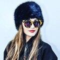 YNZZU женщин Зимние Шапки 2016 Мода Теплый Шапочка Российской Искусственного Меховая Шапка Для Женщин Пушистый Cap Высокое Качество YA001