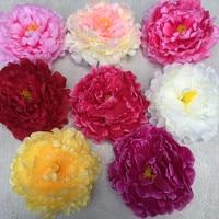 Oggetti di scena di nozze hot simulazione di seta fiore di peonia diy materiali accessori fiori decorativi singolo della parete del fiore headwear