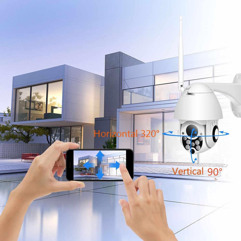 SeeSii 1080P Облачное хранилище беспроводная wifi камера наружная камера наблюдения с датчиком PTZ IP купольная скоростная камера CCTV Камера Безопасности s P2P Camara wifi Внешняя
