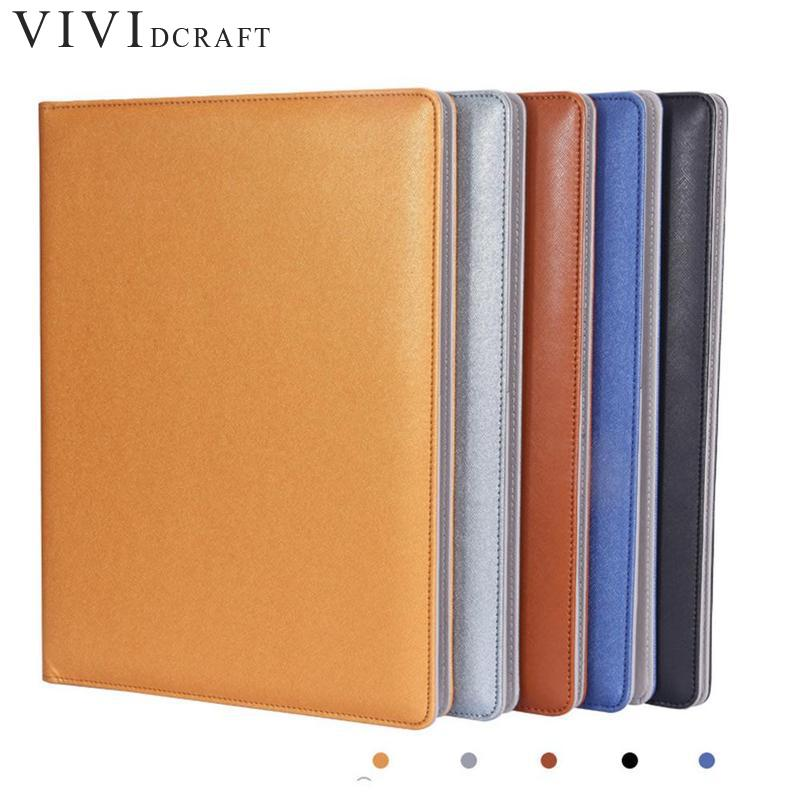 Clipboard Folder Portfolio Multi-function Leather Organizer Study Office Manager Clip Writing Pads Legal Paper Contract a4 5 cheap clipboard padfolio multi function filling products folder for documents school office supplies organizer portfolio