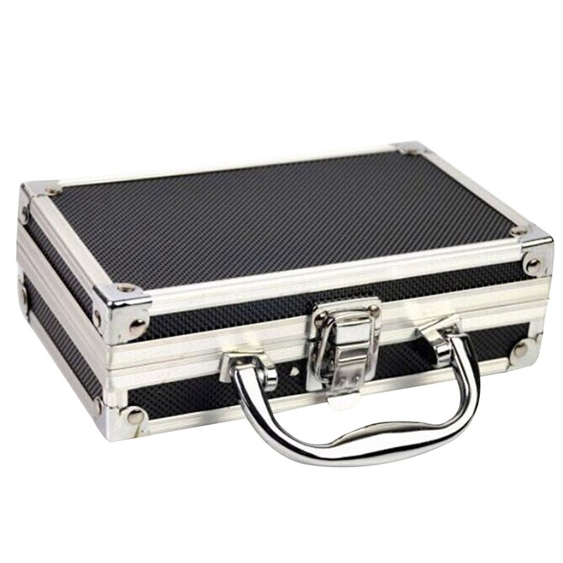 Case Luggage-Organizer Storage-Suitcase Cosmetics Aluminium-Alloy For Travel Home