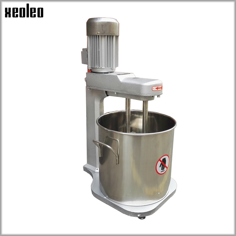 xeoleo 15l double stirring food mixer egg beater tilt head cream mix machine 200w 220v commercial egg beat machine in food mixers from home appliances on